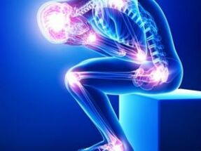 valus luud voi liigesed kogu keha mis on liigeste poletiku blokeerimine