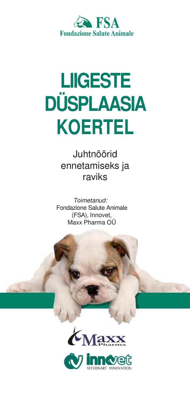 koerad liigeste haigustest